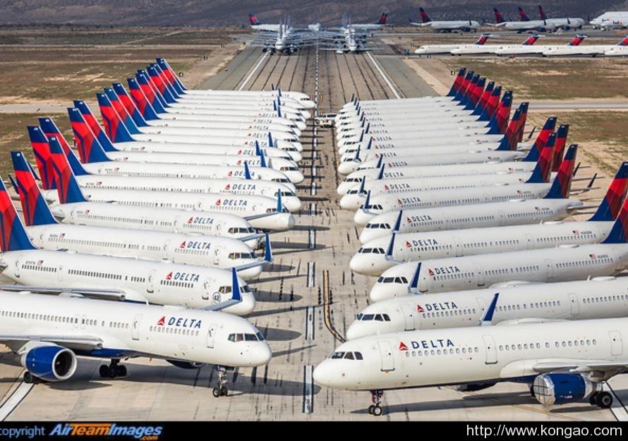 达美航空:每天烧钱6000万美元 Q2收入预计减少90%