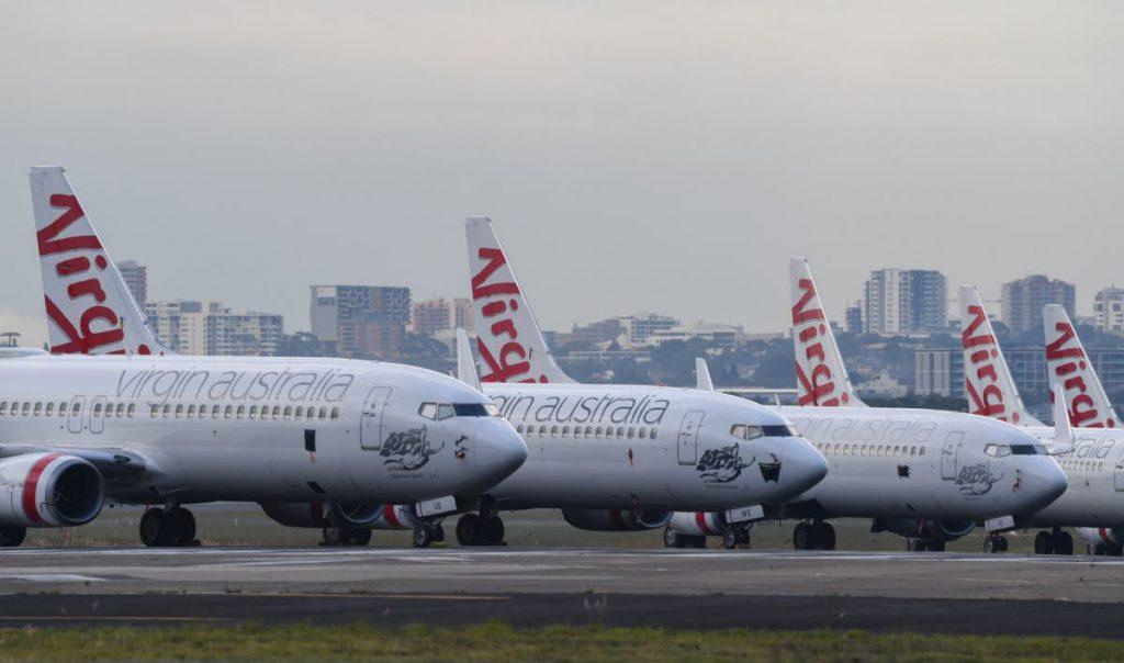 维珍澳大利亚航空竞标的范围缩小到只有2个方