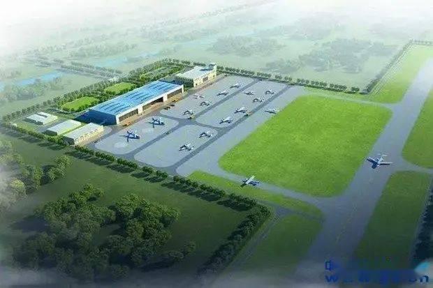 安徽首个县级通用机场在建中,投资约2.5亿元