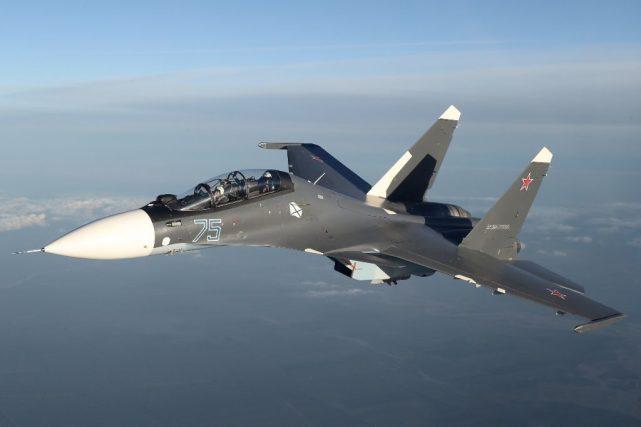 俄罗斯向哈萨克斯坦交付新一批苏-30SM战斗机